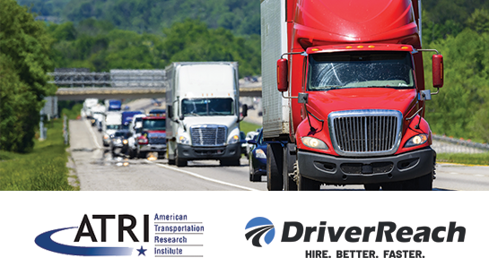 Driver Shortage Once Again Top Concern in ATRI's Annual Survey (and Other Key Takeaways)