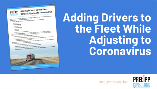 Adding Drivers to the Fleet While Adjusting to Coronavirus