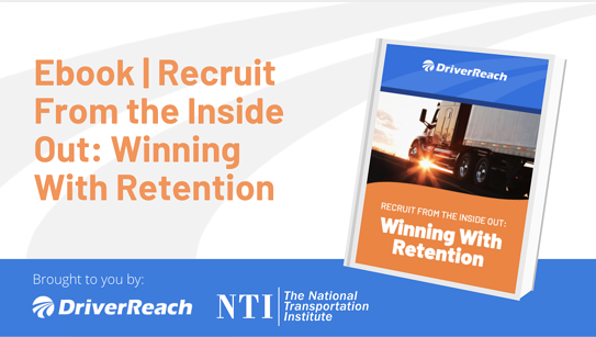 Ebook | How to Optimize Your Driver Retention from the Inside Out