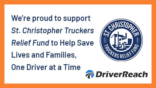 DriverReach Supports SCF to Help Save Lives and Families, One Driver at a Time