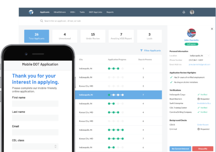 Increase Driver Recruiting Wins with a Better Applicant Experience