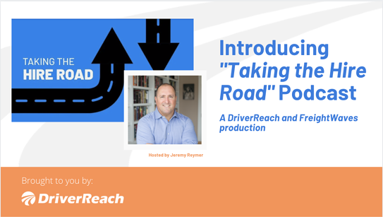 """Introducing """"Taking the Hire Road"""" Podcast"""