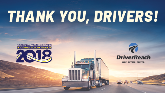 Celebrating National Driver Appreciation Week