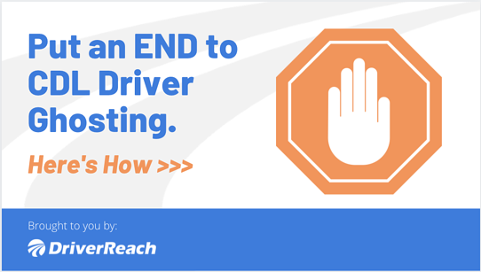 Put an END to CDL Driver Ghosting. Here's How: