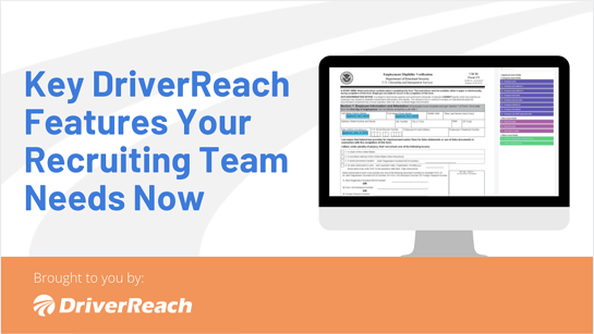 Key DriverReach Features Your Recruiting Team Needs Now