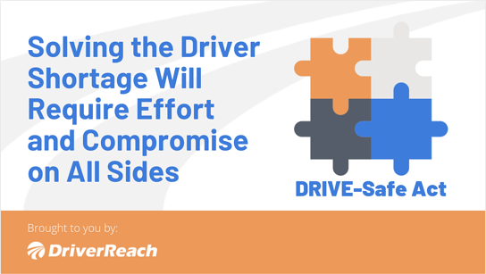 Solving the Driver Shortage Will Require Effort and Compromise on All Sides