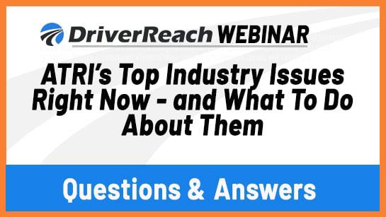 Webinar Q&A:
