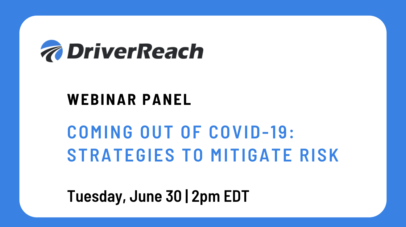 Webinar | Coming Out of COVID-19: Strategies to Mitigate Risk